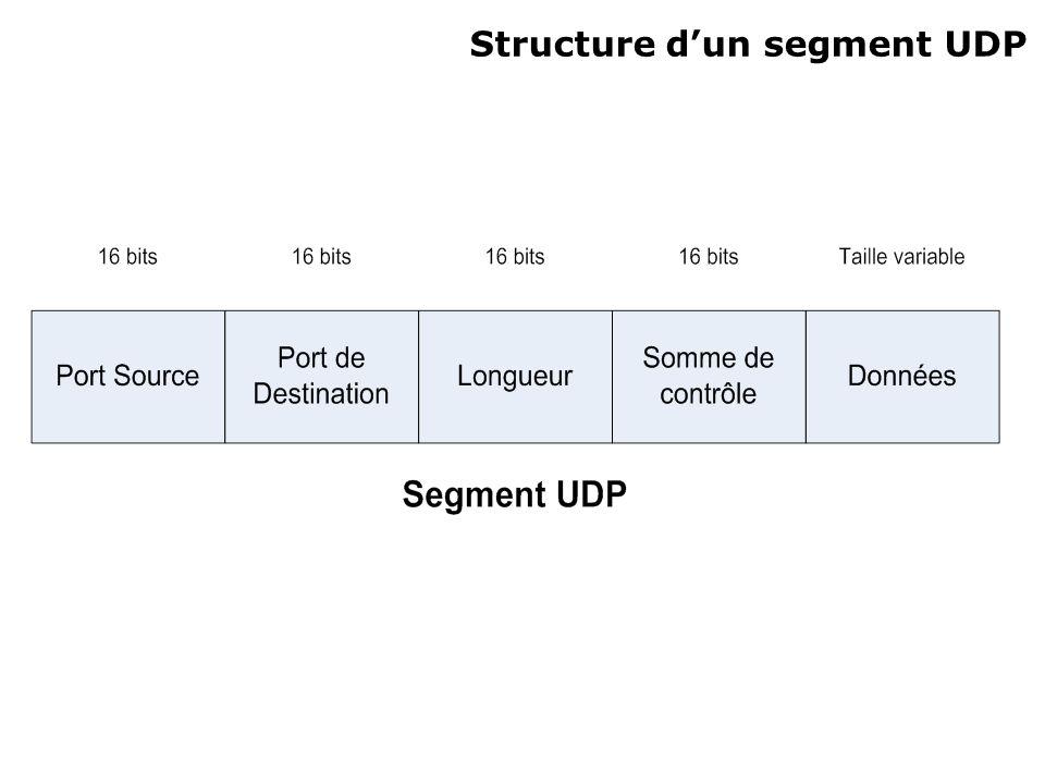 Structure dun segment UDP