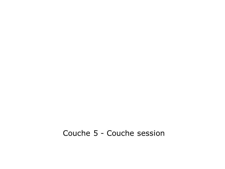 Couche 5 - Couche session
