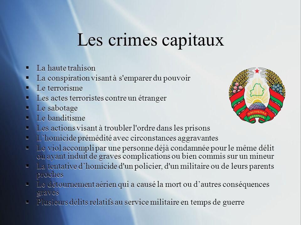 Traduction de ces chiffres 1010 personnes exécutées et 2700 personnes condamnées à mort en 2006, selon les rapports publics.