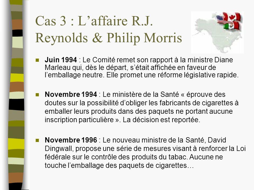 Cas 3 : Laffaire R.J.