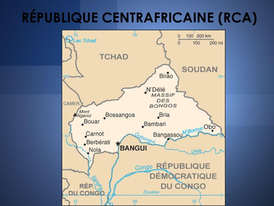 RÉPUBLIQUE CENTRAFRICAINE (RCA)
