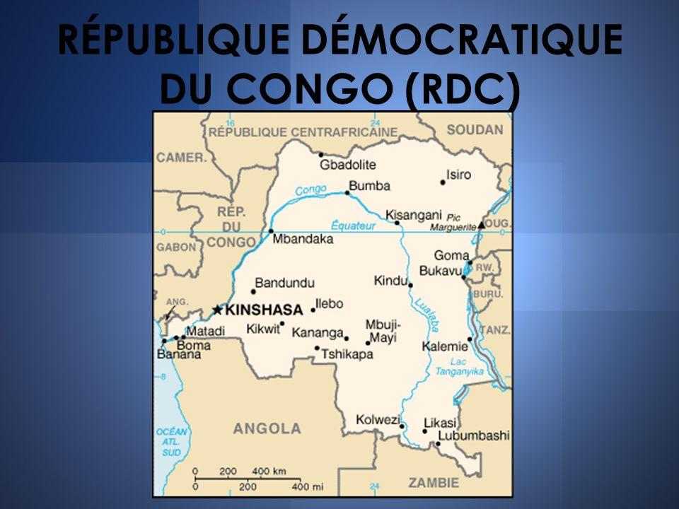 RÉPUBLIQUE DÉMOCRATIQUE DU CONGO (RDC)