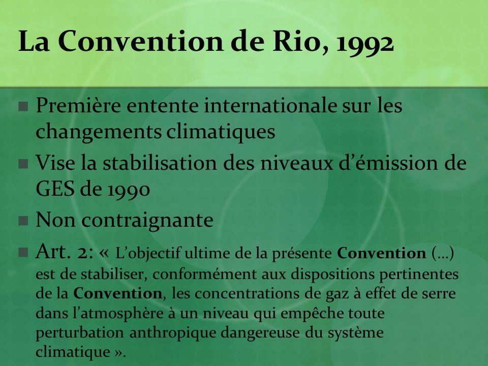 Partenariat Asie-Pacifique sur le développement propre et le climat Les plus gros pollueurs de la planète (responsables de la moitié des émissions de GES) ne veulent pas sacrifier leur croissance économique à la lutte contre le réchauffement Six États membres en 2006: États-Unis, Australie, Chine, Inde, Japon et Corée du Sud Première réunion en janvier 2006 à Sydney en Australie http://www.asiapacificpartnership.org/