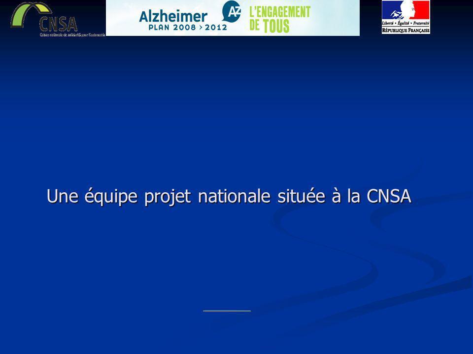 Une équipe projet nationale située à la CNSA
