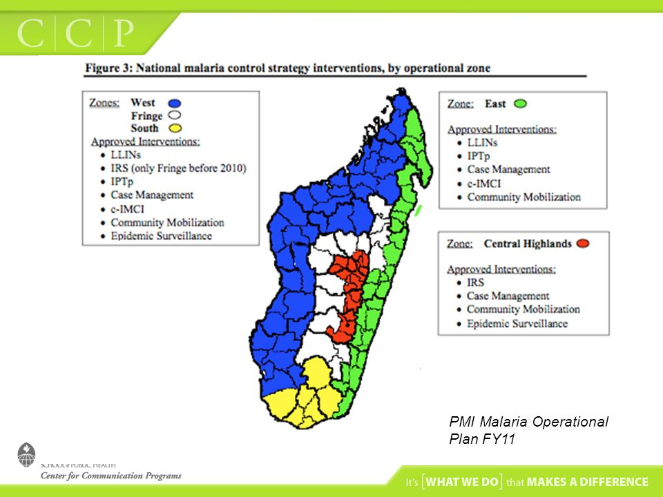 PMI Malaria Operational Plan FY11