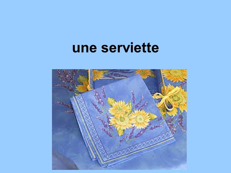 une serviette