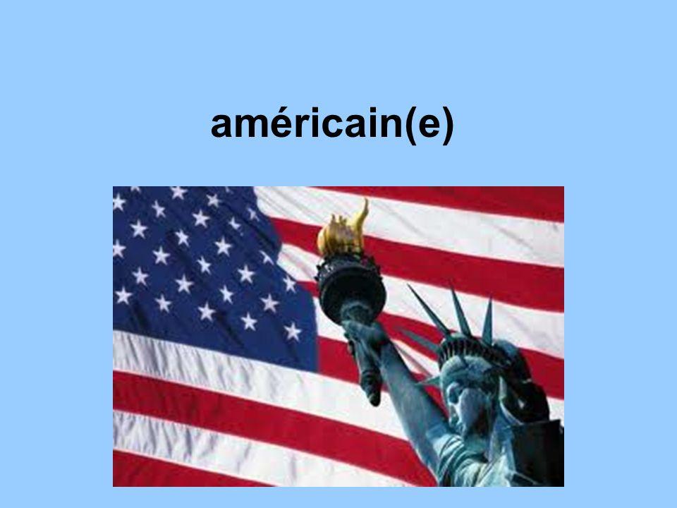 américain(e)