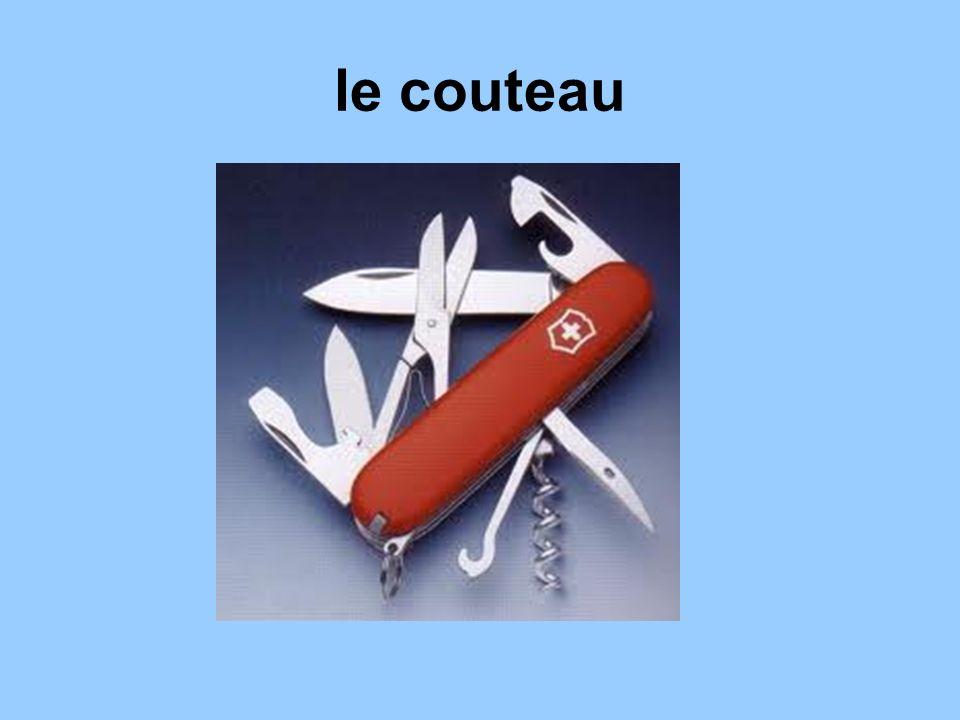 le couteau