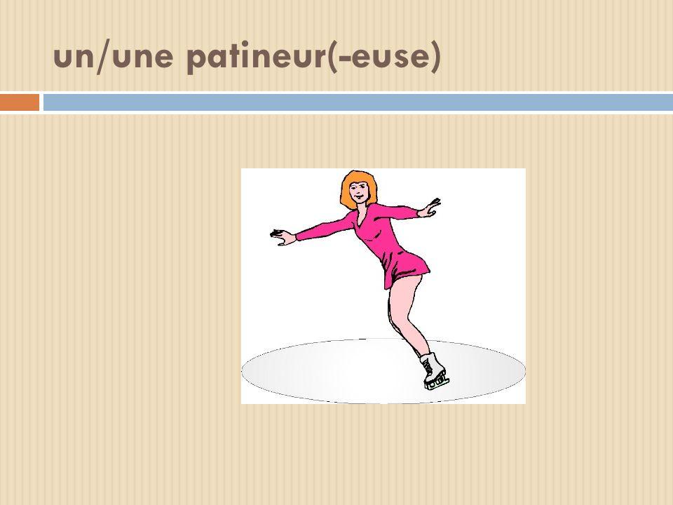 un/une patineur(-euse)