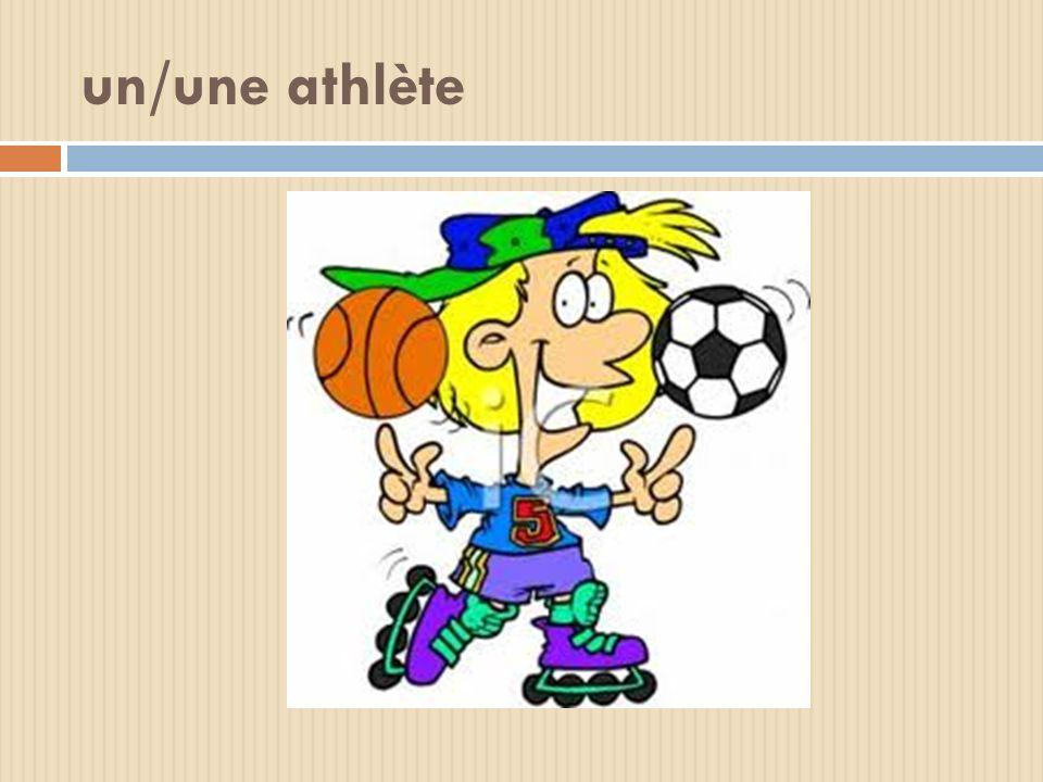 un/une athlète