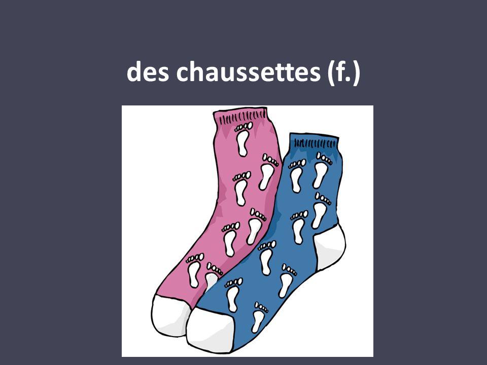 des chaussettes (f.)