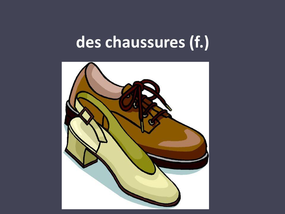 des chaussures (f.)