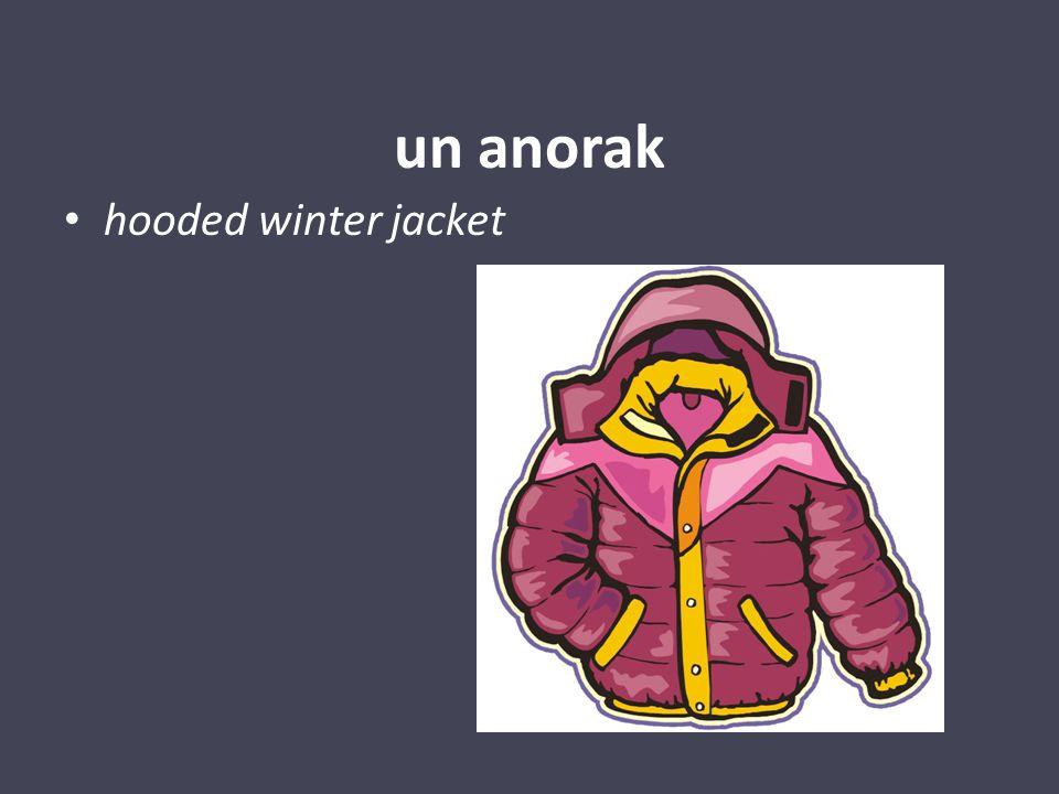 un manteau
