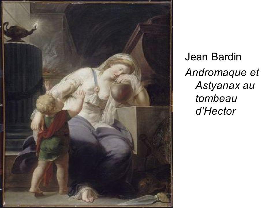 D.Augé Jean Bardin Andromaque et Astyanax au tombeau dHector