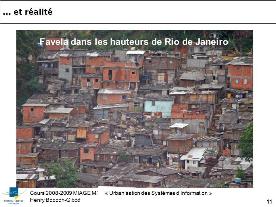 Cours 2008-2009 MIAGE M1 « Urbanisation des Systèmes dInformation » Henry Boccon-Gibod 11...