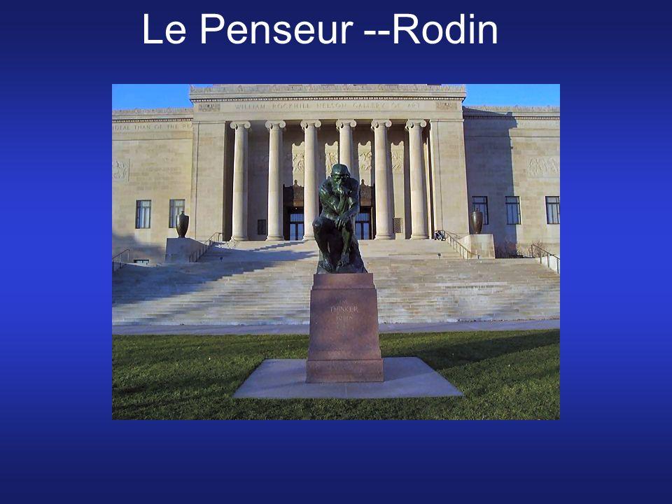 Le Penseur --Rodin
