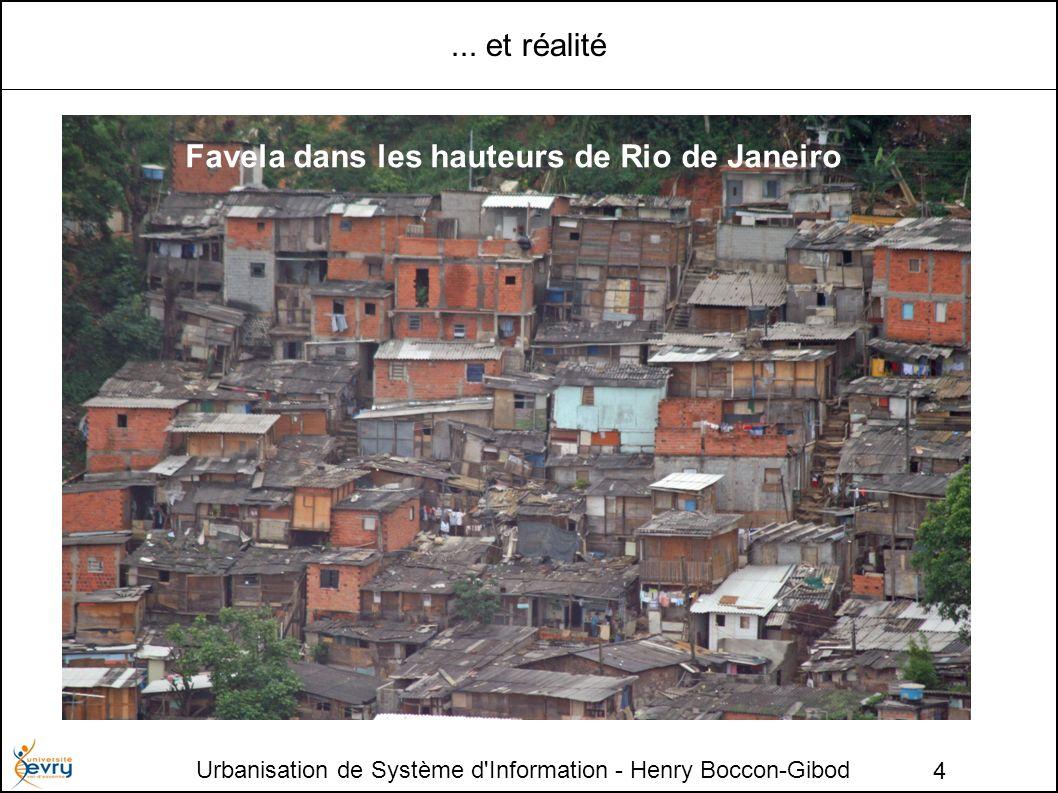 Urbanisation de Système d Information - Henry Boccon-Gibod 5 Héritage : Brasilia ou Rio de Janeiro .