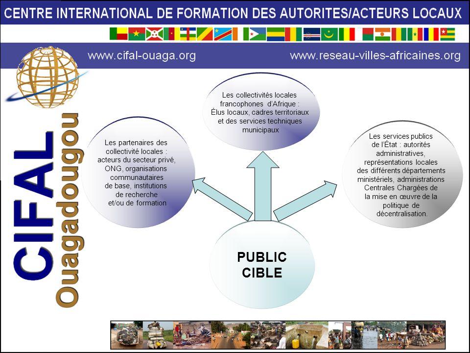 PUBLIC CIBLE Les services publics de lÉtat : autorités administratives, représentations locales des différents départements ministériels, administrati