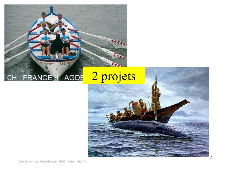 Grand Lyon - Louis-Edouard Pouget - CIFAL – Lomé - Mai 2008 7 2 projets