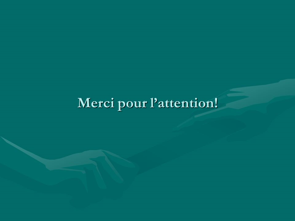 Merci pour lattention!