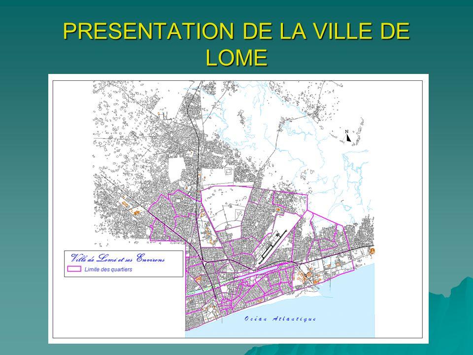 PRESENTATION DE LA VILLE DE LOME