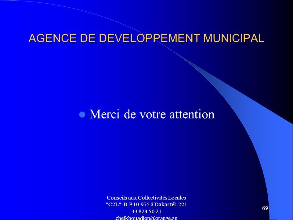Conseils aux Collectivités Locales