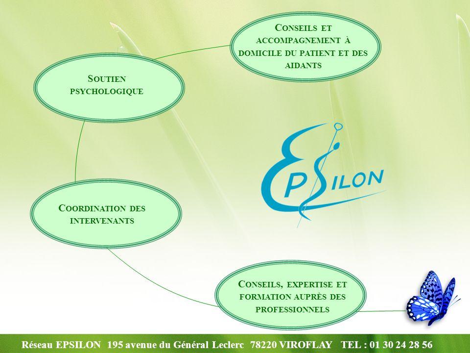 Réseau EPSILON 195 avenue du Général Leclerc 78220 VIROFLAY TEL : 01 30 24 28 56 2 – Les actions réalisées Mise en place dateliers prévention des chutes animés par un masseur kinésithérapeute.