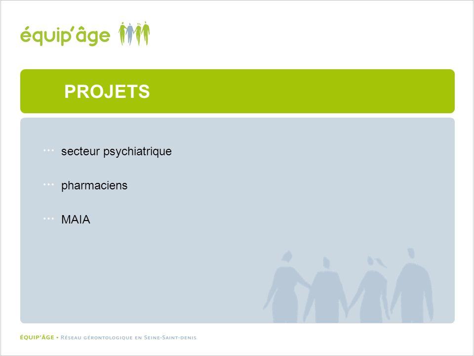 secteur psychiatrique pharmaciens MAIA PROJETS