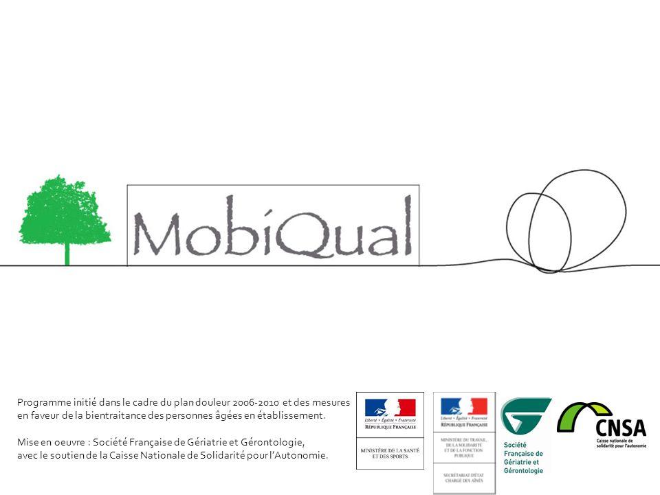 Analyse 2010 Utilisateurs de la mallette Source : SFGG, Programme MobiQual, juin 2010 LA DOULEUR CHEZ LA PERSONNE ÂGEE