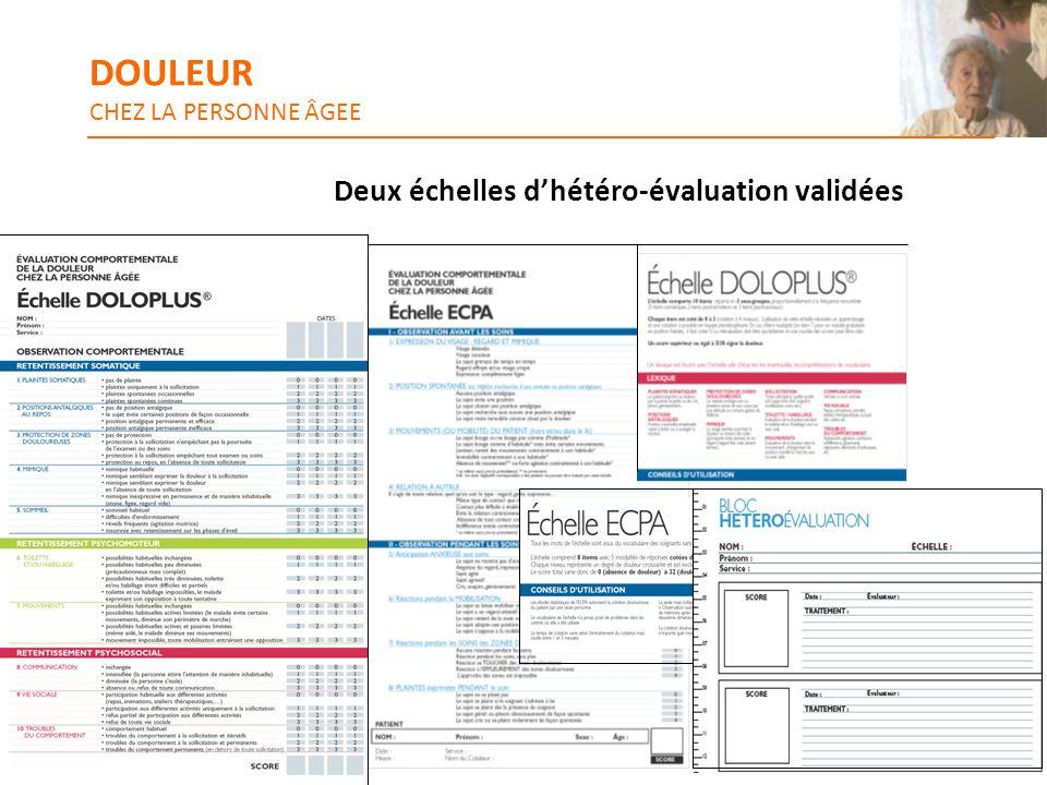 Deux échelles dhétéro-évaluation validées