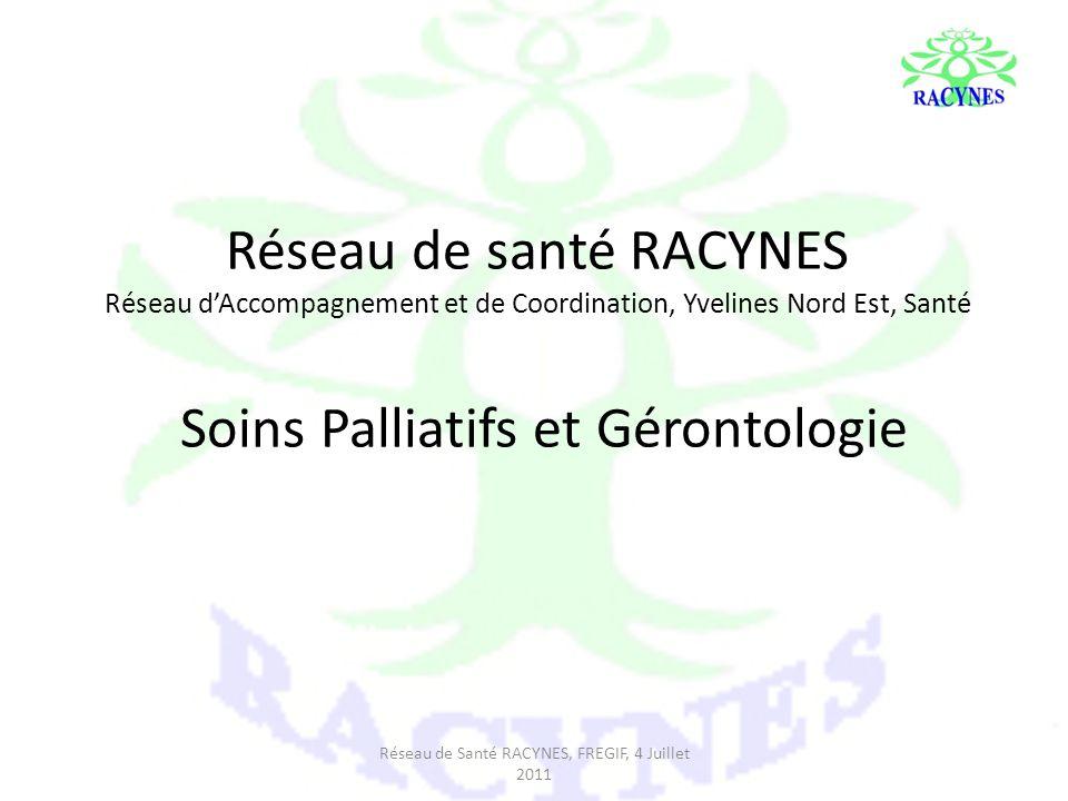 Réseau de santé RACYNES Réseau dAccompagnement et de Coordination, Yvelines Nord Est, Santé Soins Palliatifs et Gérontologie Réseau de Santé RACYNES,