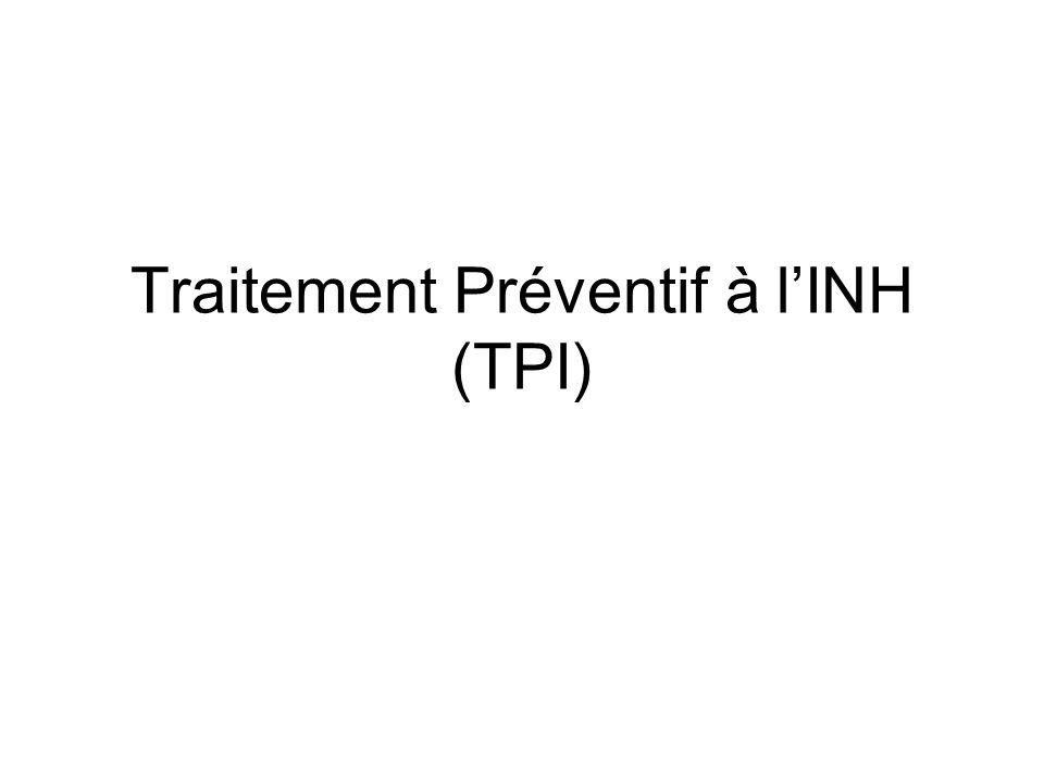 Traitement Préventif à lINH (TPI)