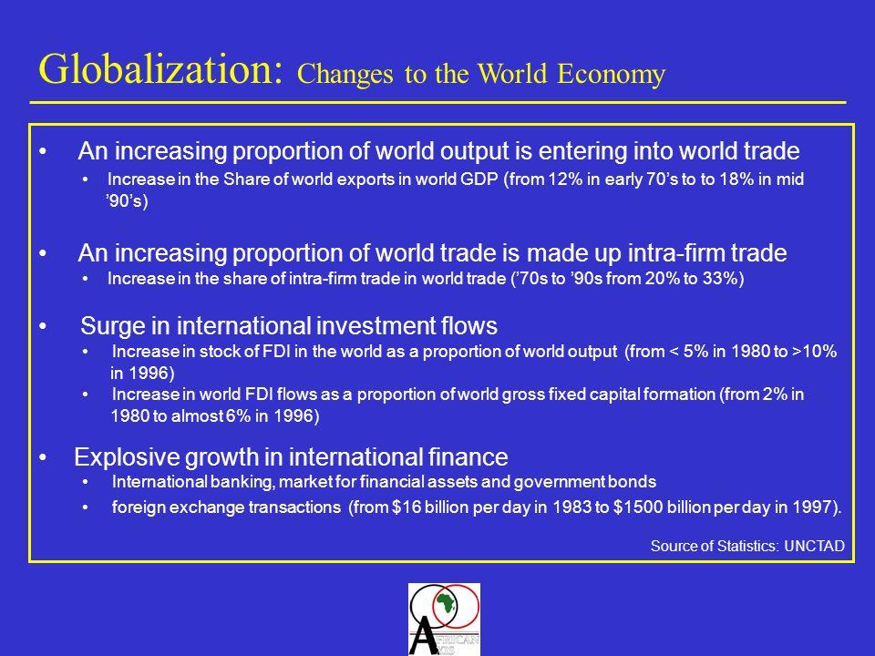 « Nous devons coopérer pour que la mondialisation ne réserve pas ses fruits à une minorité mais apporte la prospérité aux plus grande nombre ….
