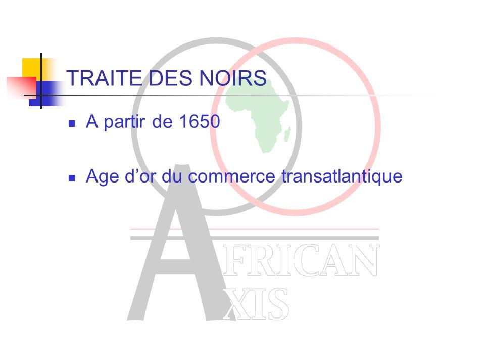 AVANT LE COMMERCE TRANSATLANTIQUE Egypte ancienne – Nubie Sociétés grecque et romaine. Islam