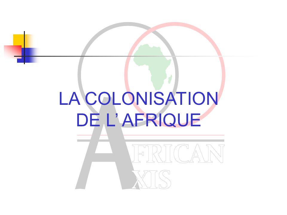 APRES L ABOLITION DE L ESCLAVAGE Déclin du commerce sur la côte ouest Africaine Augmentation de la demande des pays musulmans