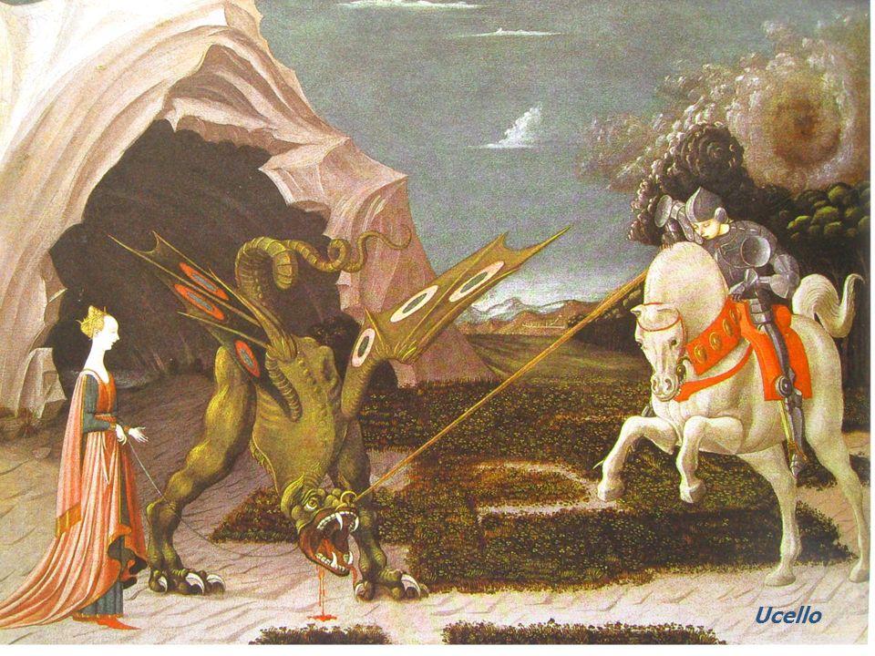 La « Légende dorée » écrite au 13ème siècle par Jacques de Voragine nous conte lhistoire dun chevalier, Jordi (Georges en catalan) qui va délivrer une princesse prisonnière dun dragon.