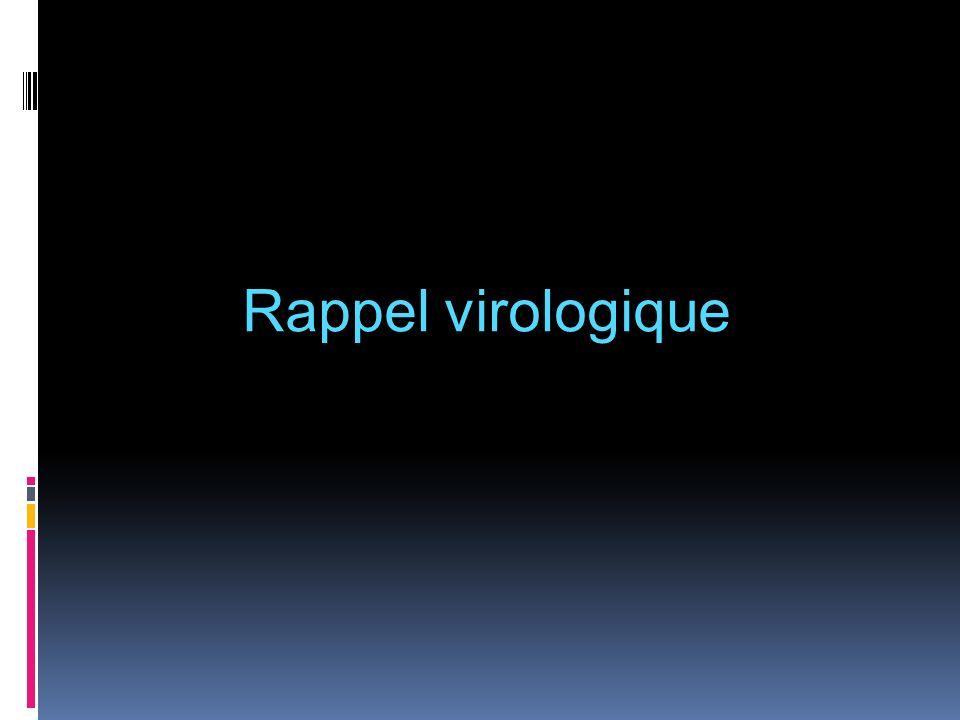 Découverte du virus en 1989 ARN monocaténaire Famille des flaviviridae ; genre hépacivirus 6 génotypes et un grand nombre de sous types Test diagnostic sérologique: 1992 = Ac anti-HCV