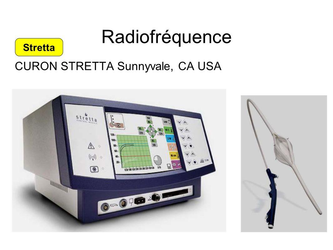 Radiofréquence CURON STRETTA Sunnyvale, CA USA Stretta