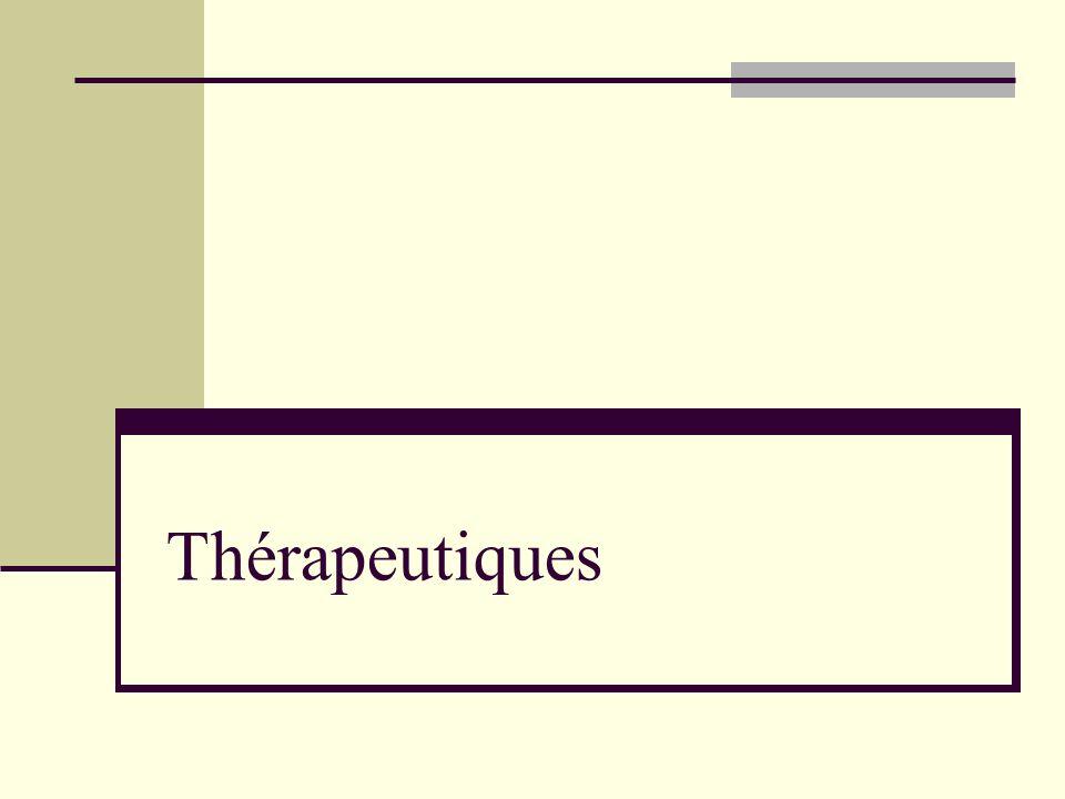 Thérapeutiques