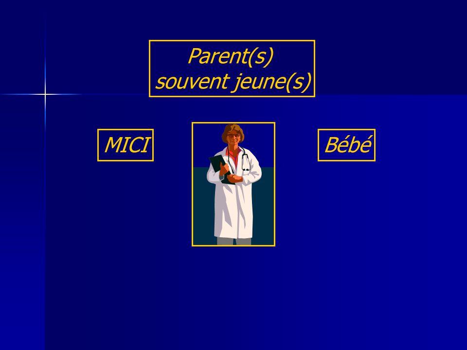 MICI Parent(s) souvent jeune(s) Bébé