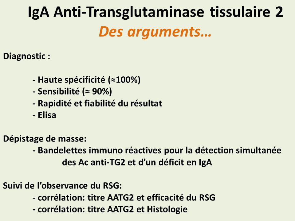 Diagnostic : - Haute spécificité (100%) - Sensibilité ( 90%) - Rapidité et fiabilité du résultat - Elisa Dépistage de masse: - Bandelettes immuno réac