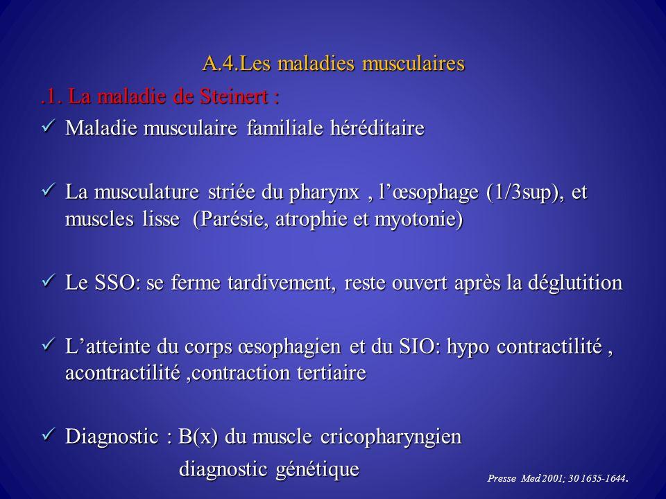 A.4.Les maladies musculaires.1.