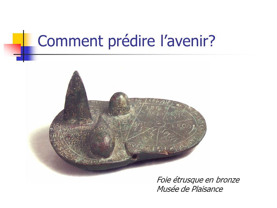 Comment prédire lavenir? Foie étrusque en bronze Musée de Plaisance