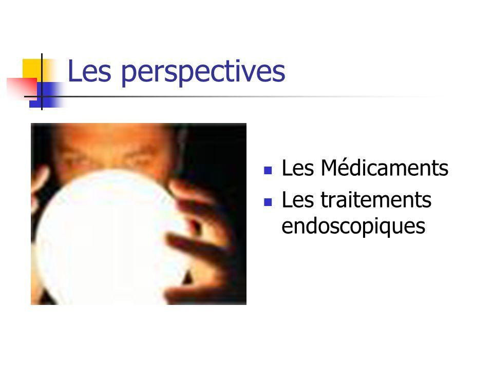Les perspectives Les Médicaments Les traitements endoscopiques