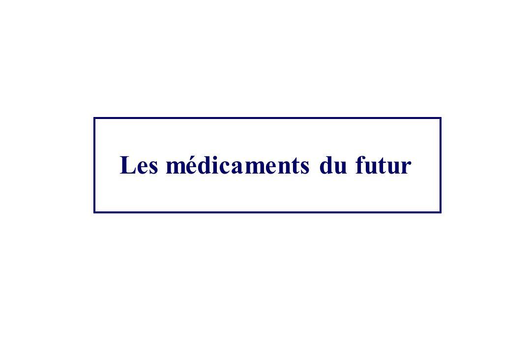 Les médicaments du futur