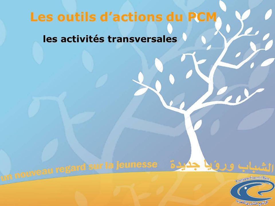 les activités transversales Les outils dactions du PCM