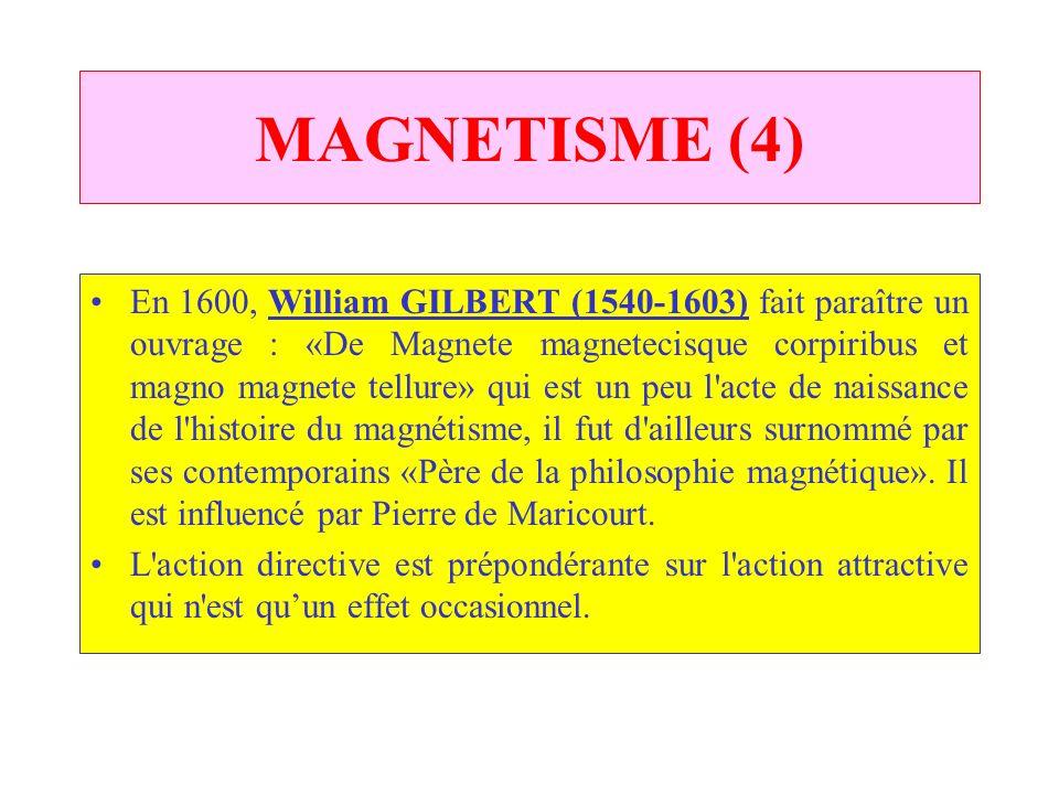 ELECTRICITE (1) RienRien de nouveau depuis THALES, souvent on confond magnétisme et électricité. Jérôme CARDAN (1501-1576) sefforce de distinguer les