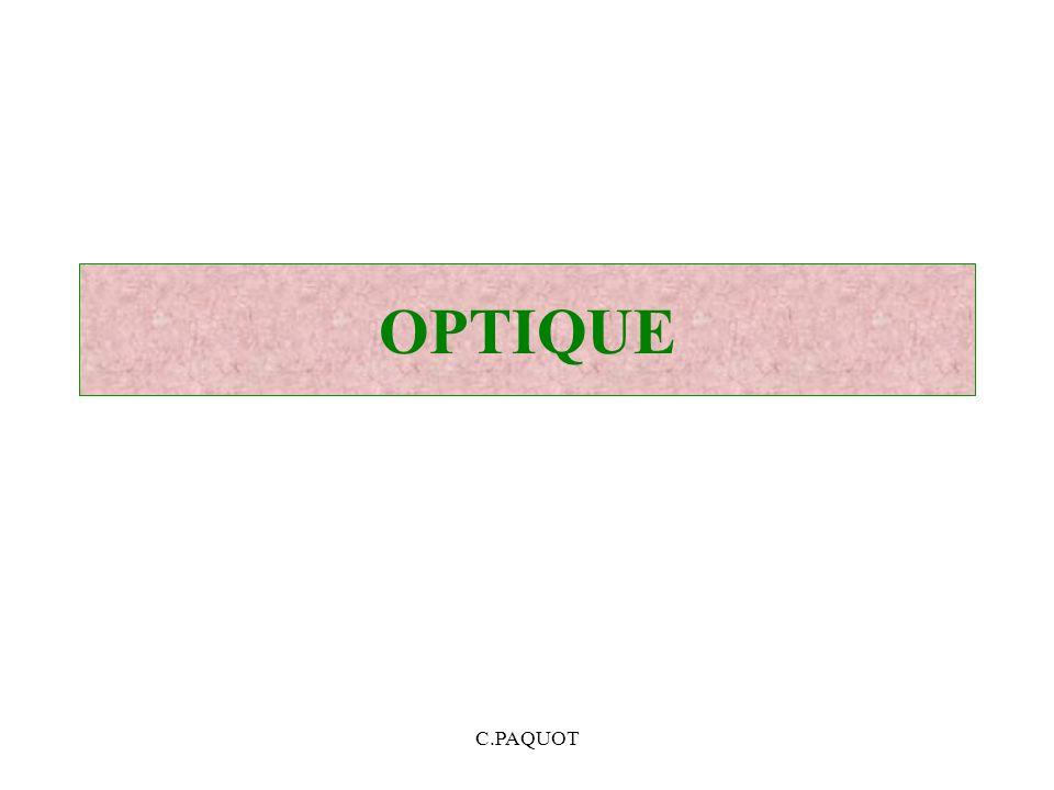 C.PAQUOT OPTIQUE