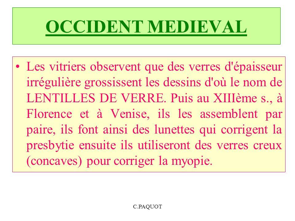 XVIII ème siècle Il ny a pas une évolution importante au cours de ce siècle.