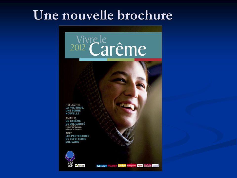 Une nouvelle brochure